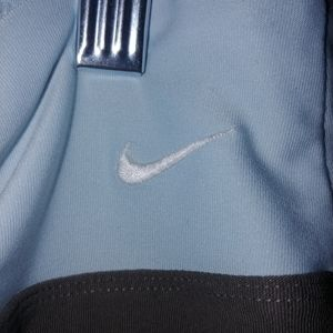 Nike👀 dry fit work out capris brown and baby blue